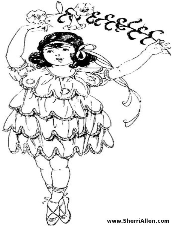 Free Dance Coloring Pages from SherriAllen.com